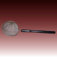 Vintage Wire Skimmer, Strainer
