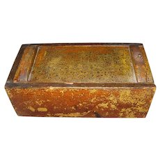 19th Century Ship Captains Candle Box