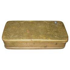 18th Century Dutch Tobacco Box