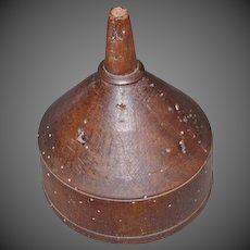 18th Century Wooden Cider Funnel