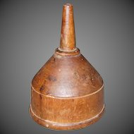 18th Century Wooden Cider Funnel