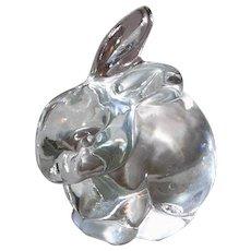 Fenton Art Glass Rabbit Figurine