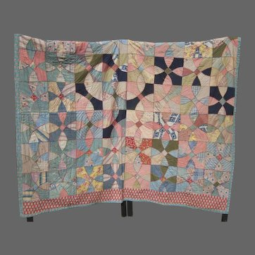 Child's Handmade Quilt by Mother