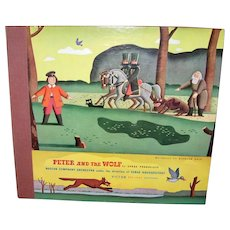 Vintage Peter and the Wolf, Opus 67 Record Album