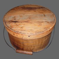 19th Century Bail Handle Pantry Box