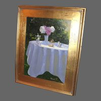 Table for One O/C by Artist Dennis Perrin