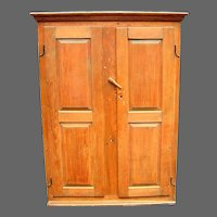 18th century Pine Storage Cupboard