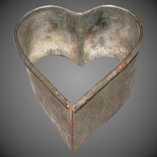 Tin Heart Cookie-Biscuit Cutter