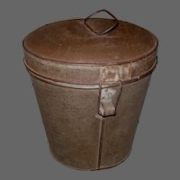 Early C. 1890s Rice Boiler Pudding Tube Mold