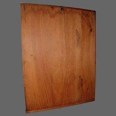 Early Two Plank Pine Bread Board