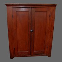 19th Century Jelly Cupboard in Red