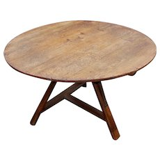19th century Dutch Tilt-Top Table