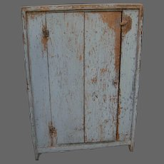 19th Century Country Floor Cupboard