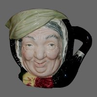 Large Royal Doulton 'Sairey Gamp' Character Jug