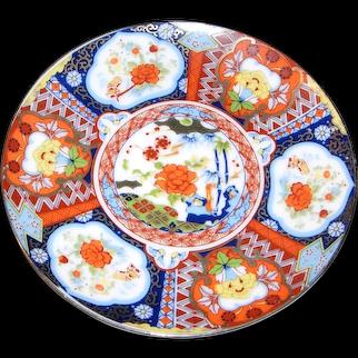 IMARI Ware Plate-Japan
