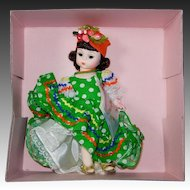 Madame Alexander International Series Brazil Doll #573