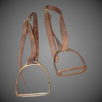 Pair of English Horse Stirrups
