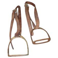 Pair of English Horse Stirrups