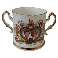 Prince Charles and Lady Diana Commemorative Bone China Mug