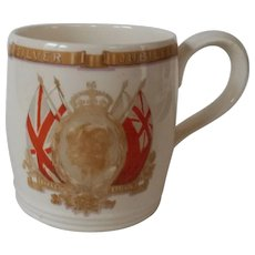1935 George V and Queen Mary Jubilee Mug