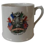 Royal Doulton WWI  Commemorative Mug 1919