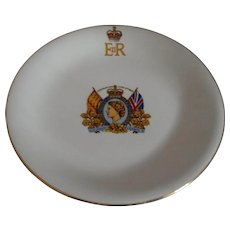 Queen Elizabeth II Coronation Plate 1953 Johnson Brothers