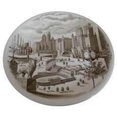 Vintage Johnson Brothers Plate for Marshall Fields