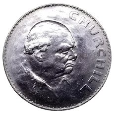 Winston Churchill Commemorative Coin 1965