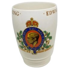 Spode Edward VIII Coronation Tumbler