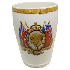 Spode Official 1935 Silver Jubilee Tumbler