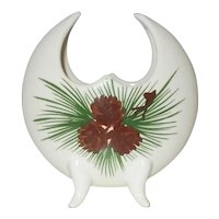 Loveland Colorado 1950's pinecone vase