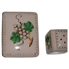 Japan Decorative box w/ salt pepper Shakers