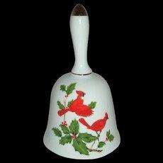 Lefton beautiful 1984 Cardinal Bird Bell