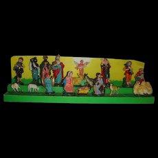 Small 18 piece Nativity set