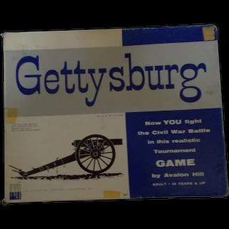 Battle of Gettysburg game Avalon 1965