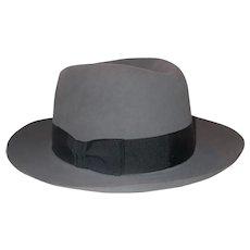 Stetson Temple Men fedora Felt Hat