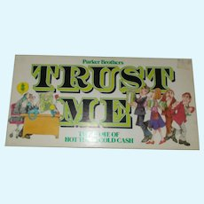 Parker Brothers 1981 Trust me game