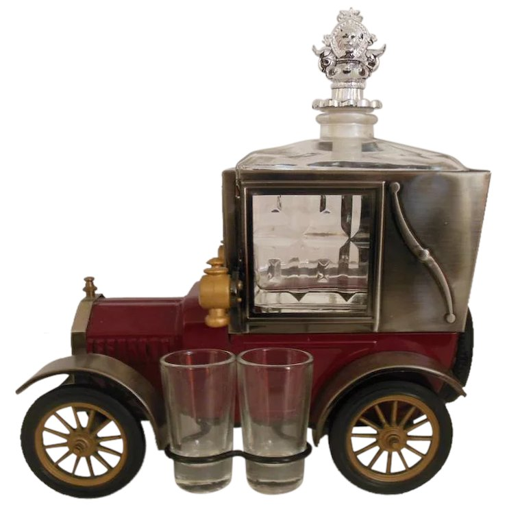 Ford Model T 1918 Music Box Scotch Decanter : CarMel Collectibles ...
