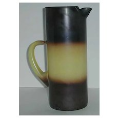 Retro Tall Pitcher Martini Striped