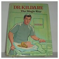 1964 Dr. Kildare the Magic Key TV Book