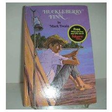 Huckleberry Fin Folger classic book
