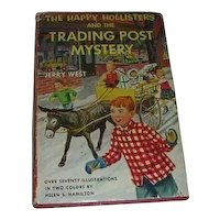 The Happy Hollisters 1954 Book  w/DJ