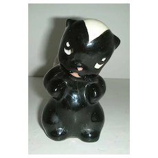 Skunk Figurine with  sweet  face
