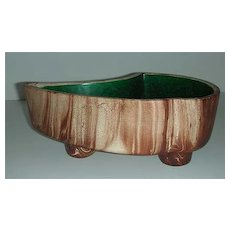Rocky Mountain Pottery planter w/ Faux Wood