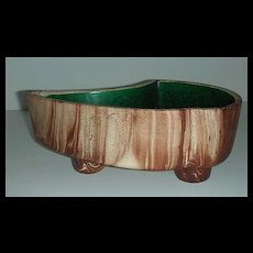 Rocky Mountain Pottery planter w/ Faux Wood