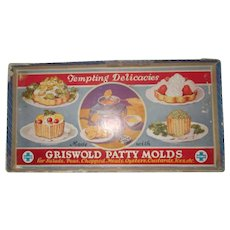 Griswold  Patty Molds  in box