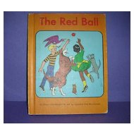 1966 The Red Ball  story  book  reader