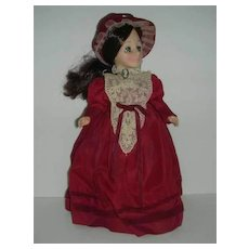 """Effanbee  Currier & Ives """"Plymouth Landing""""  doll"""