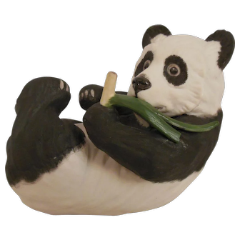 Boehm panda figurine