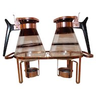 Atomic Copper Carafe coffee  syrup  Set